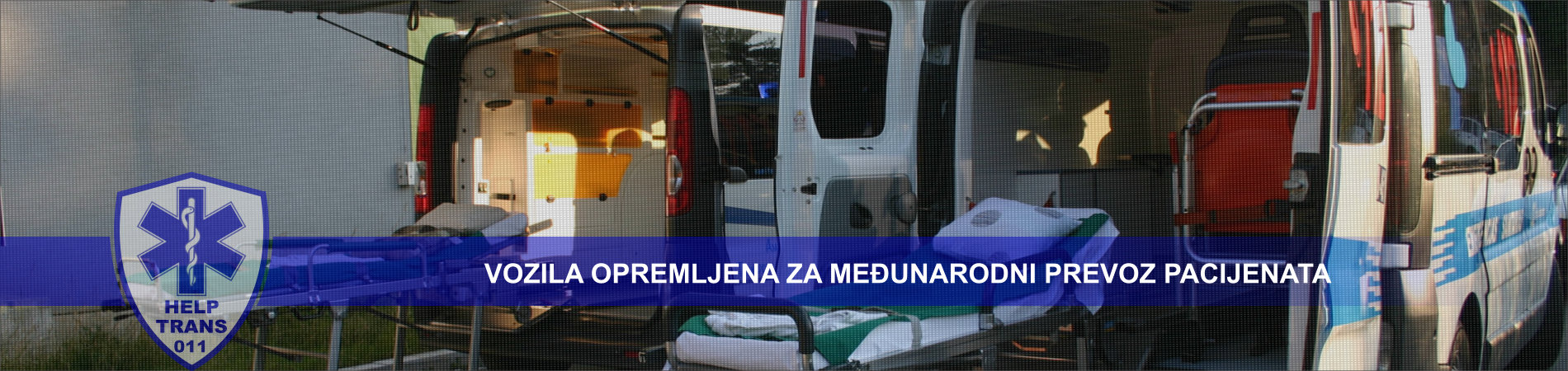 Vozila opremljena za međunarodni prevoz pacijenata